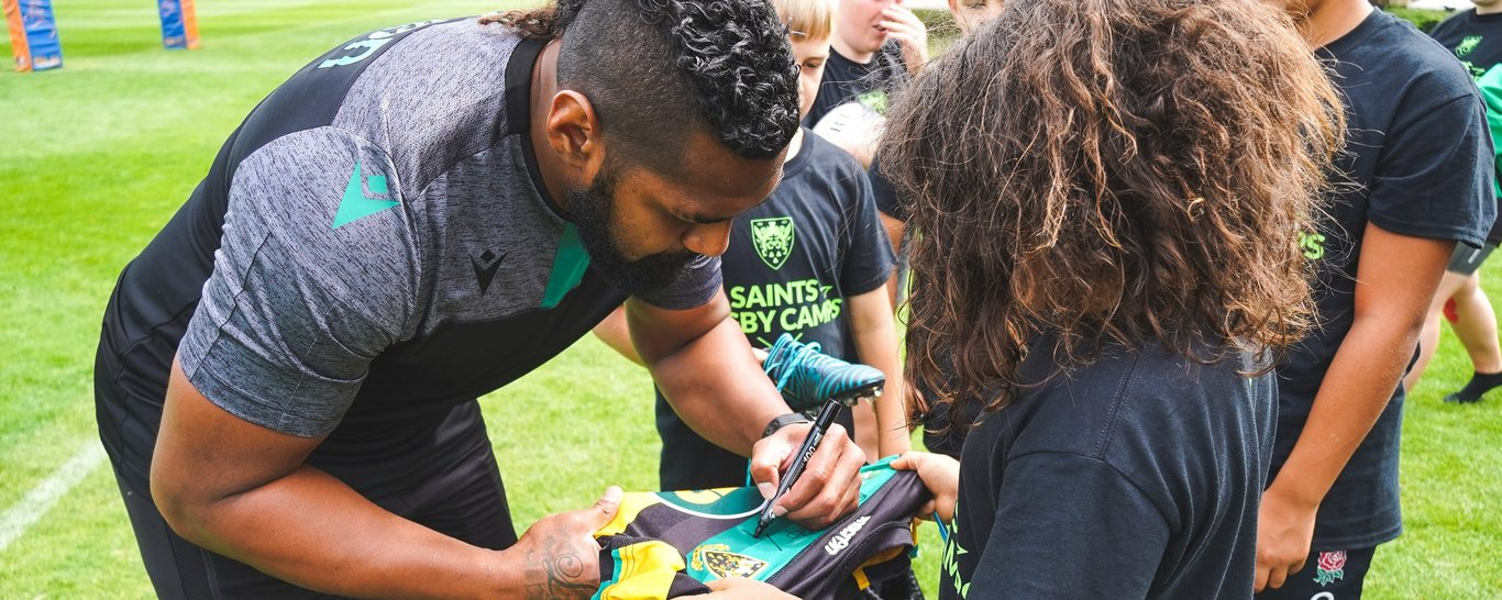 Northampton Saints rugby camps at Stowe School