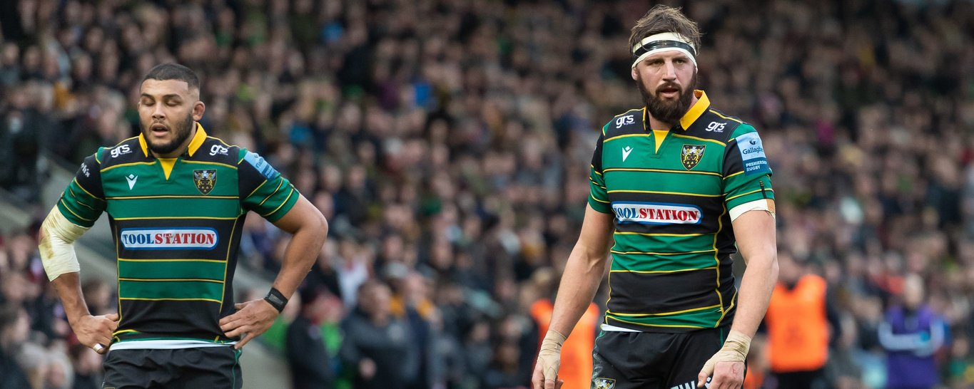 Wood and Ludlam play at Franklin's Gardens