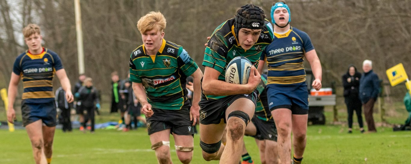 Northampton Saints has a proud history of creating homegrown rugby players