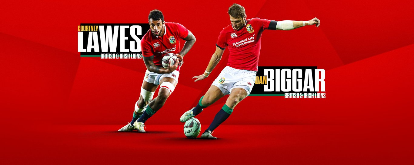 Dan Biggar and Courtney Lawes have been selected for the Lions