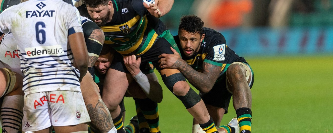 Northampton Saints' Courtney Lawes during the 2020/21 season