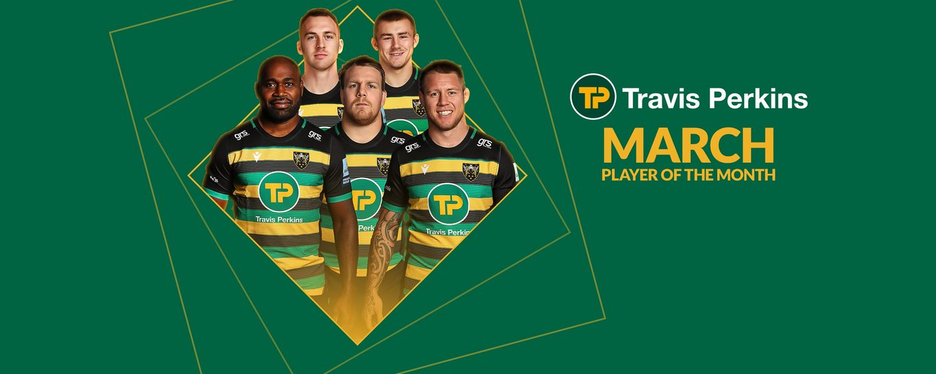 Vote now for your Travis Perkins Player of the Month for March!