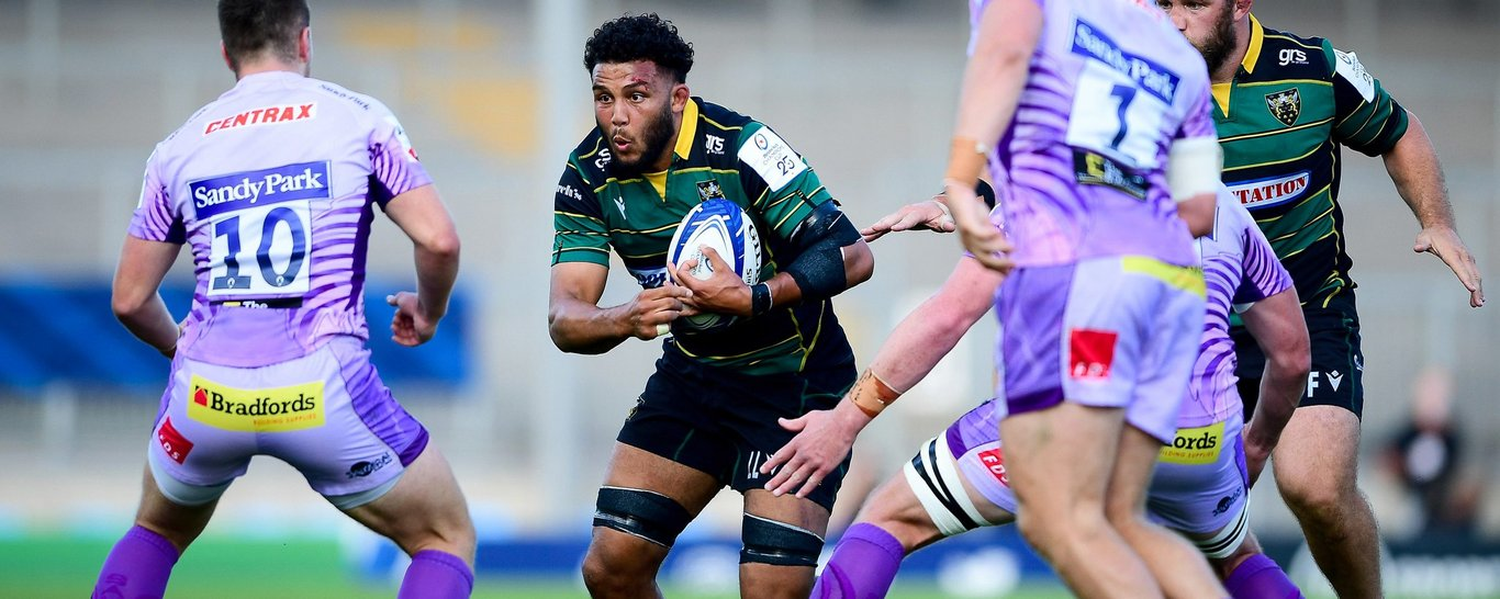 Northampton Saints' Lewis Ludlam