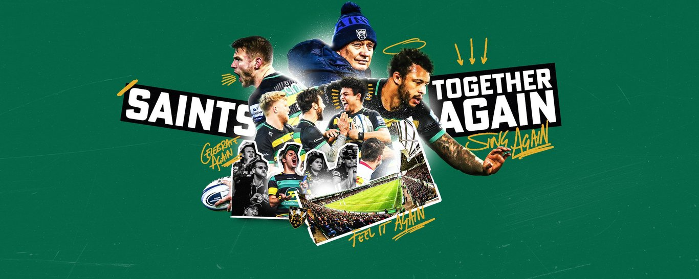 Northampton Saints Season Tickets are on sale now