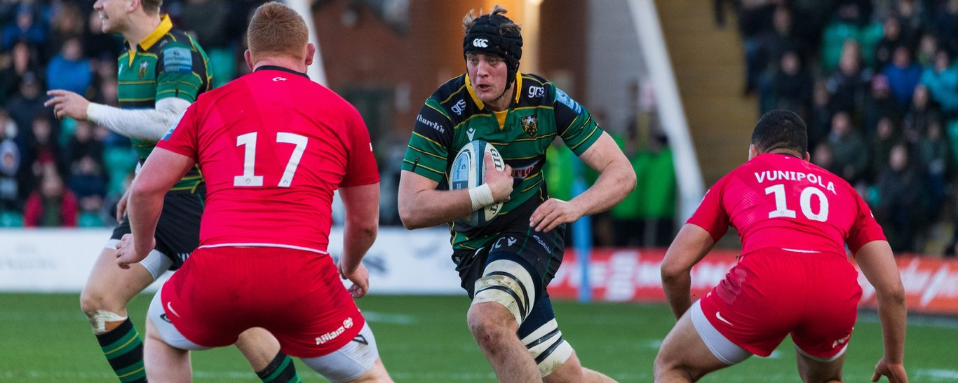 Alex Coles continues at lock for Saints