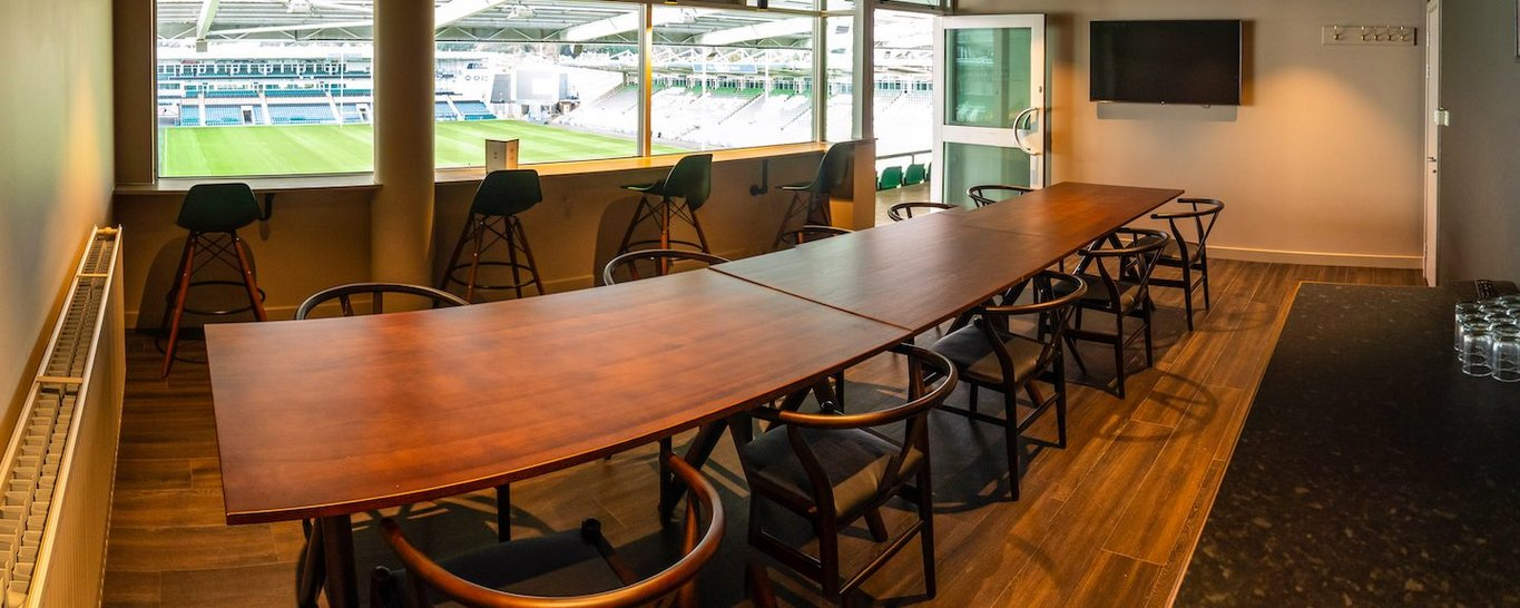 Meeting rooms are available to book at Franklin's Gardens today.