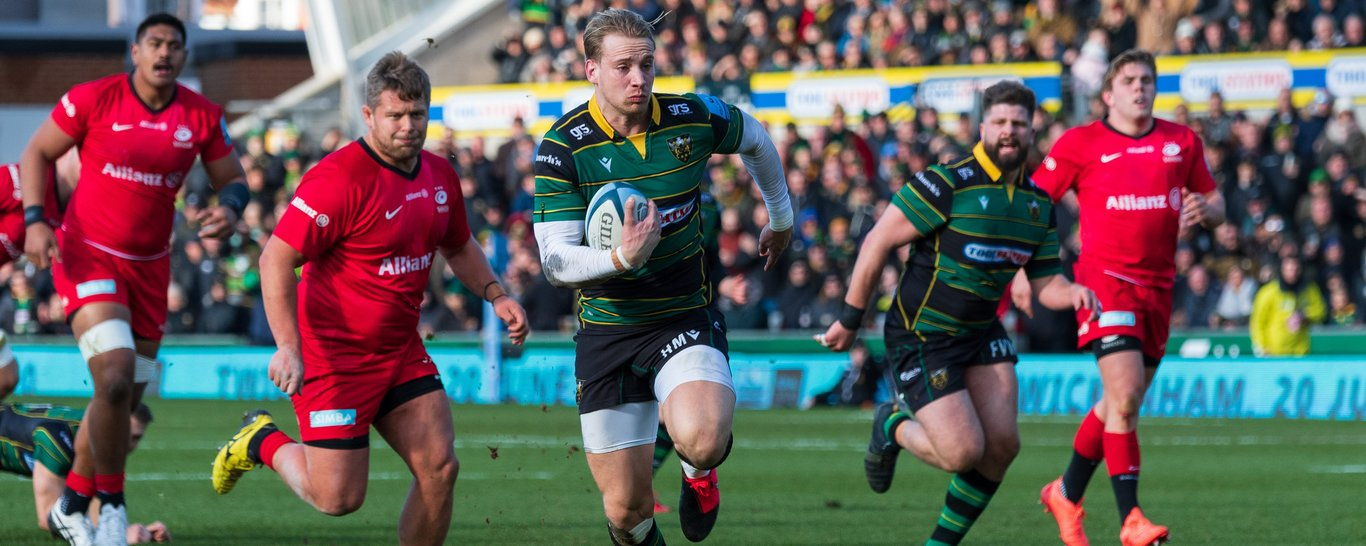 Harry Mallinder scored against Saracens