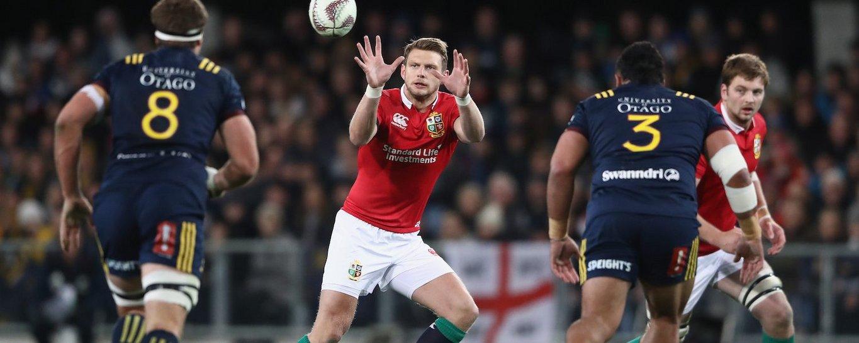 Saints' Dan Biggar has twice been selected by the Lions