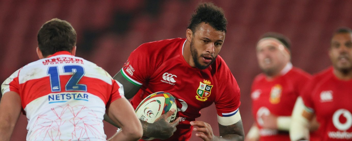 Saints' Courtney Lawes features for the British & Irish Lions