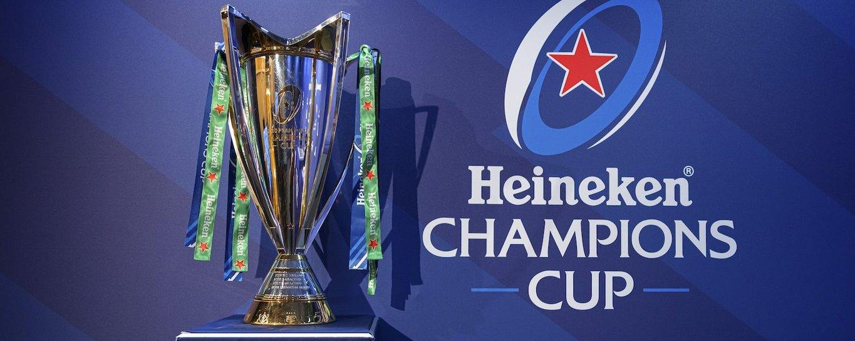 The Heineken Champions Cup trophy