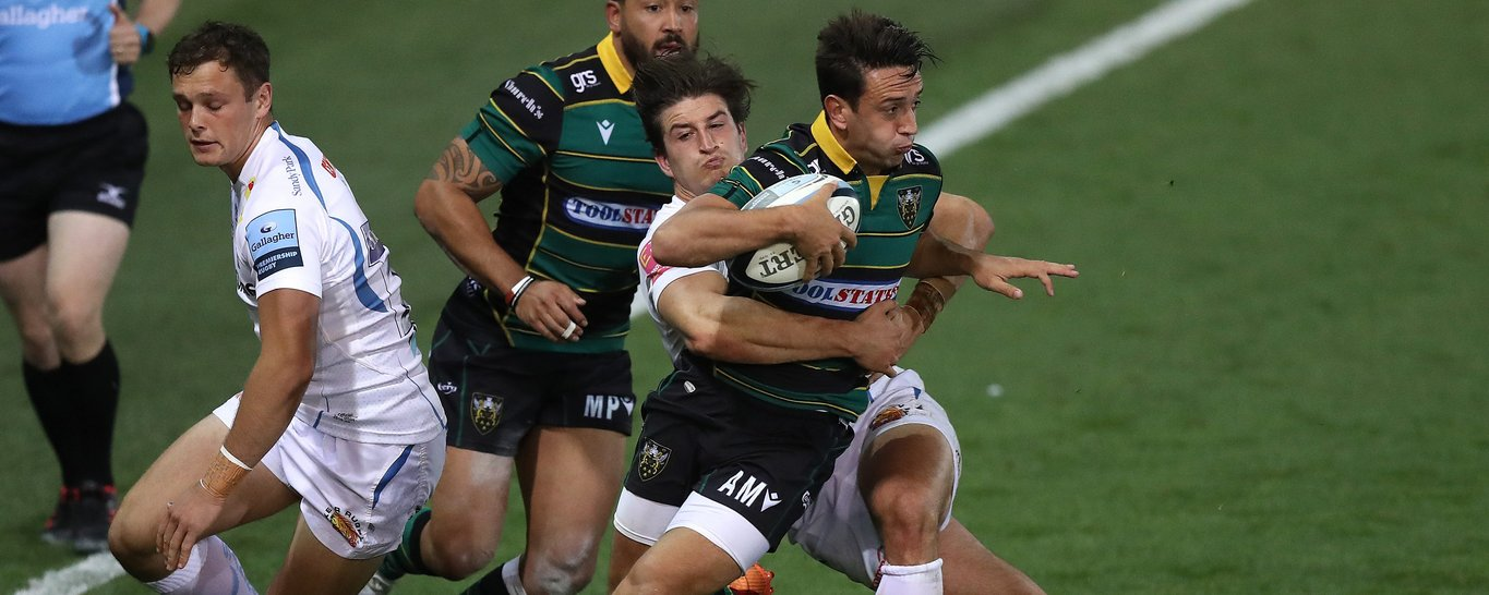Alex Mitchell of Northampton Saints