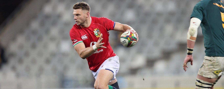 Dan Biggar plays for the Lions in South Africa