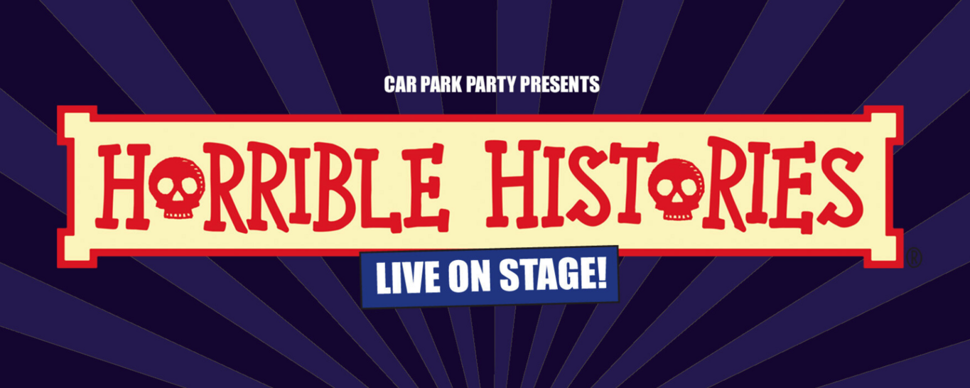 'Car Park Party' is bringing Horrible Histories to Franklin's Gardens this April.