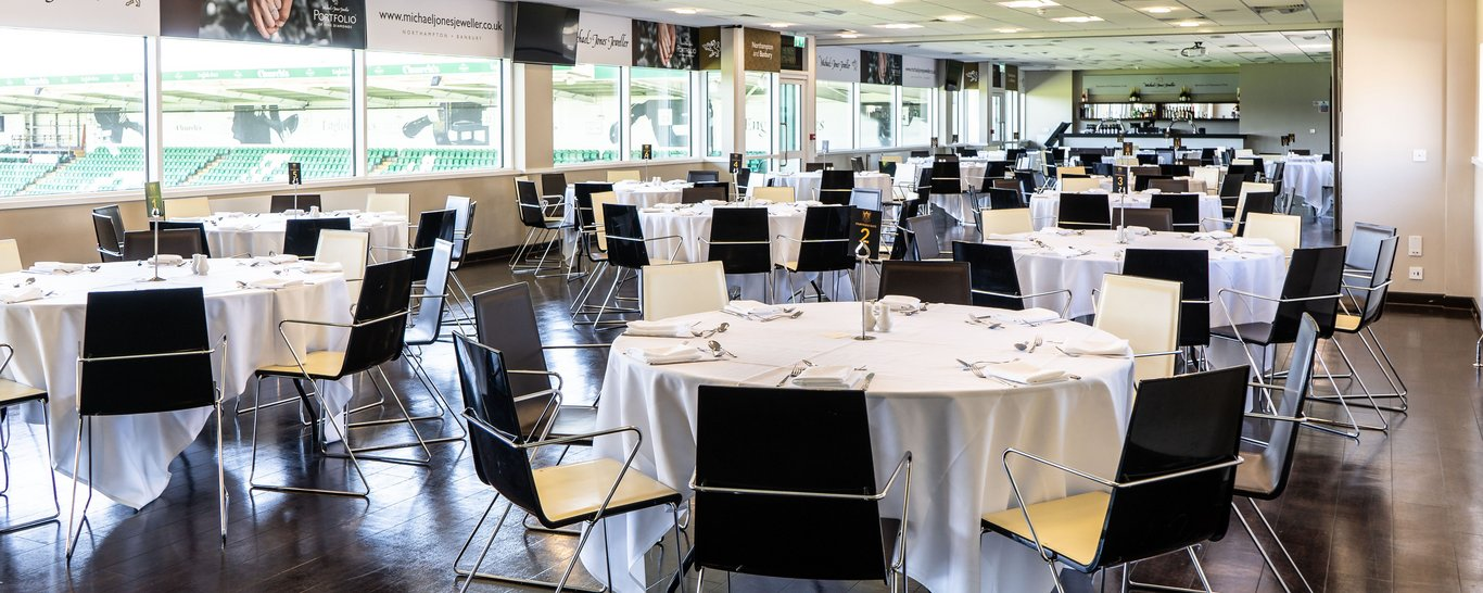 The Champions Suite at Franklin's Gardens