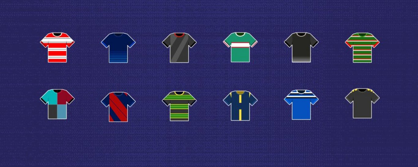 Premiership Rugby are auctioning 12 shirts for Mind