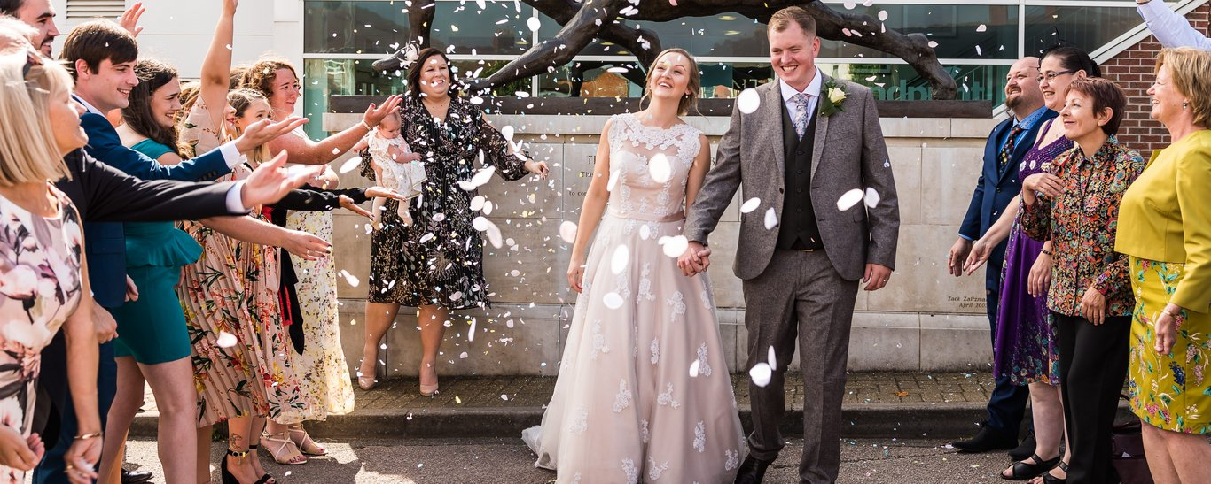 Weddings at Franklin's Gardens, Northampton