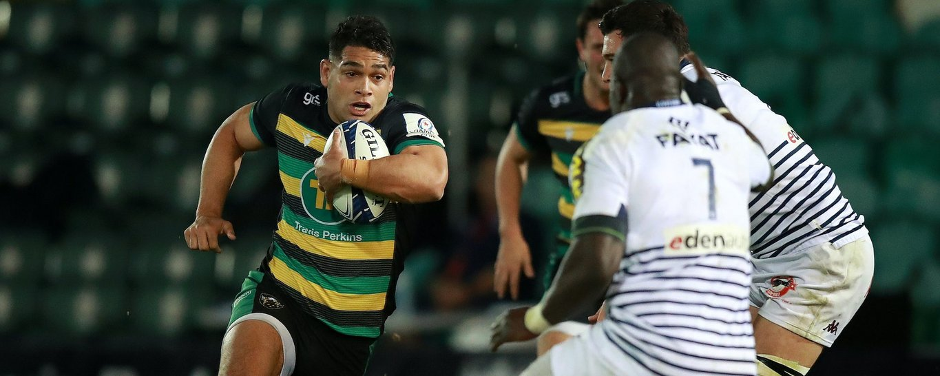 Sam Matavesi of Northampton Saints