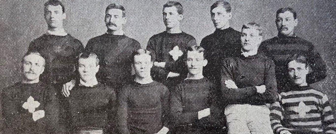 Northampton Saints' 1886 squad photo