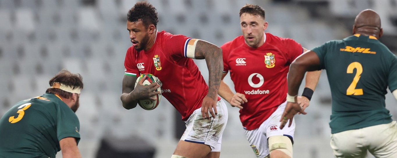 Courtney Lawes plays for the British & Irish Lions in South Africa