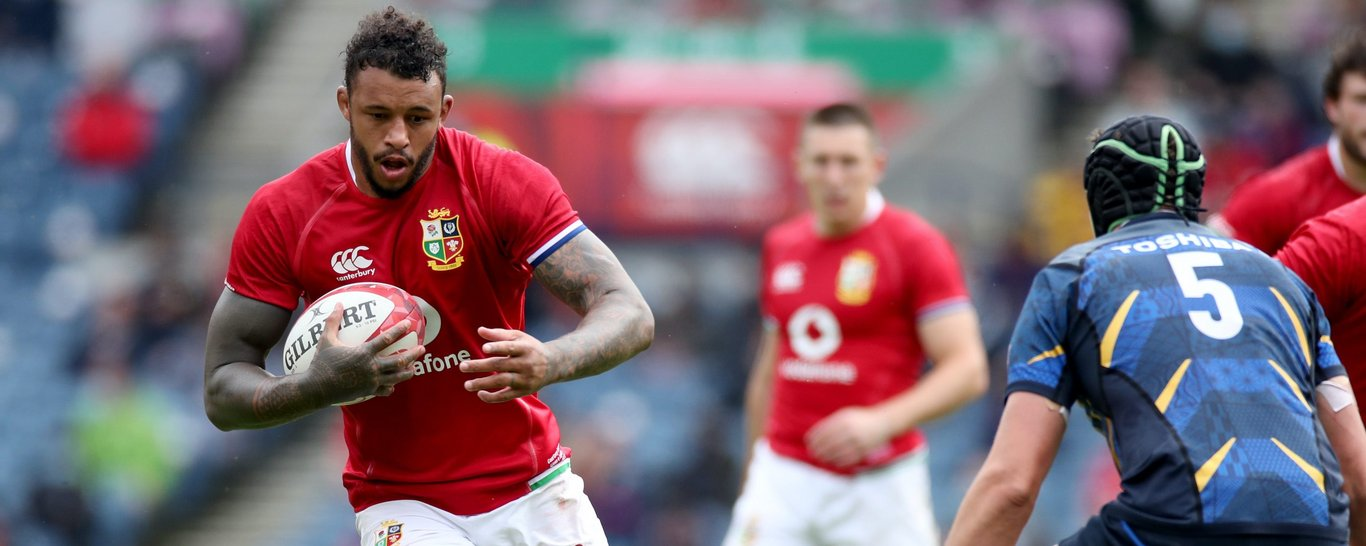 Northampton Saints' Courtney Lawes features for the British & Irish Lions.