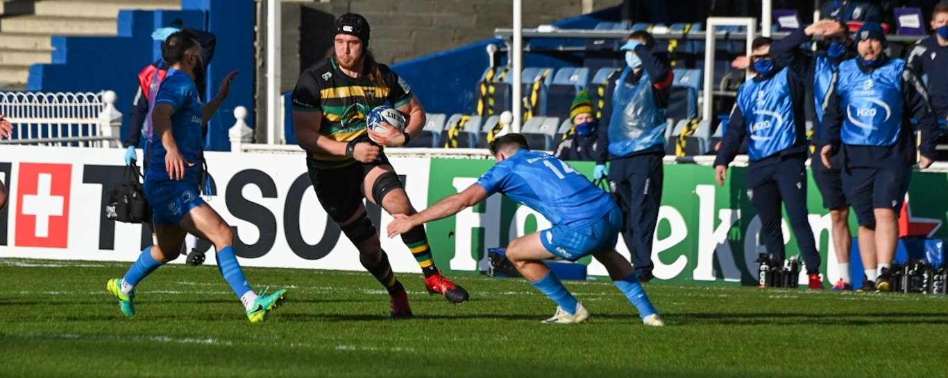 Alex Moon of Northampton Saints