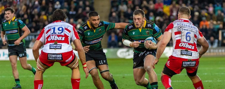 Alex Waller and Lewis Ludlam are Saints' Club Captains
