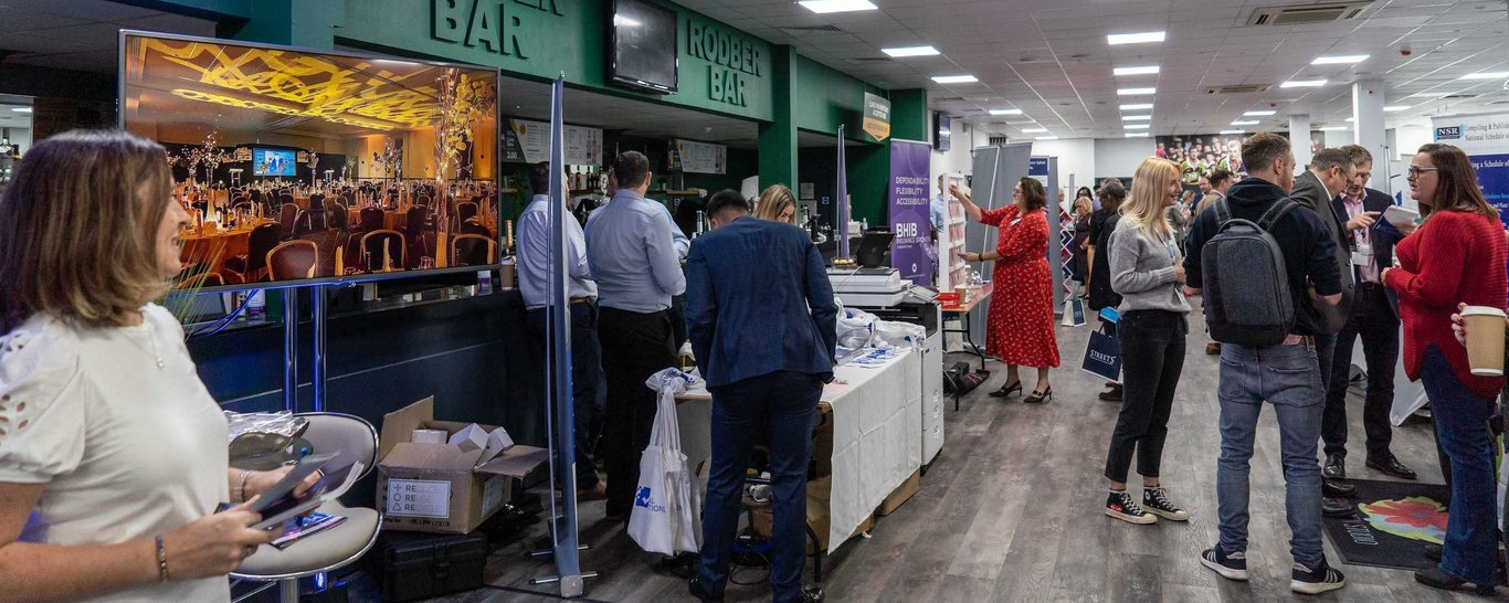 Looking for the perfect space for your exhibition? cinch Stadium at Franklin's Gardens is the ideal location whatever you're planning.
