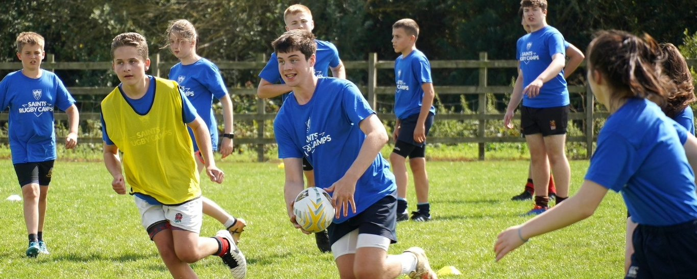 Northampton Saints' Community rugby camps to go ahead as planned at Easter.
