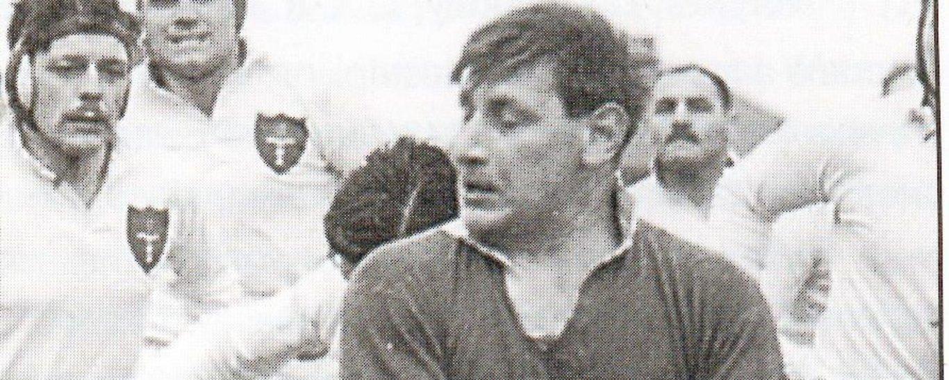 Northampton Saints' legendary prop Ron Jacobs