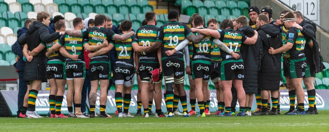 Sign up to receive all the latest news from Northampton Saints!