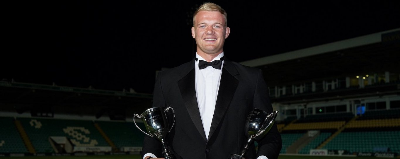 David Ribbans claimed the Supporters' and Players' Player of the Season double