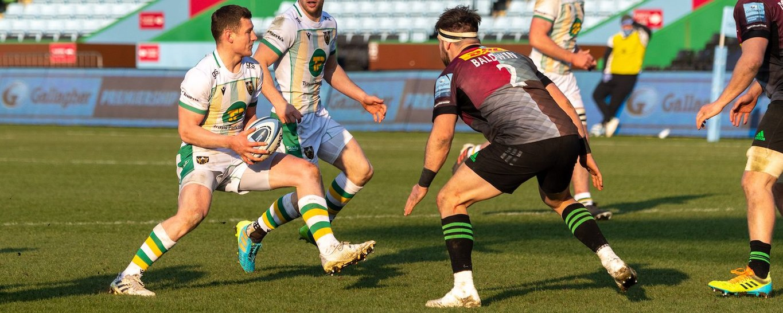 Fraser Dingwall of Northampton Saints