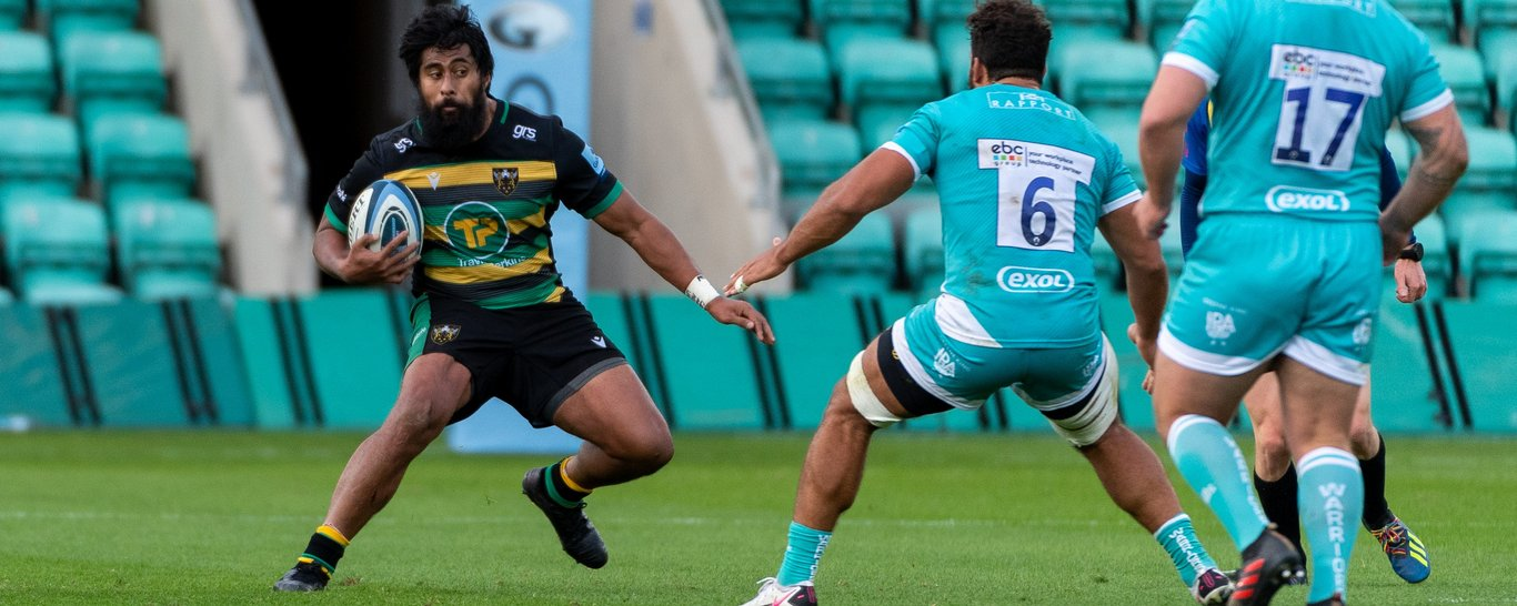 Northampton Saints' Ahsee Tuala