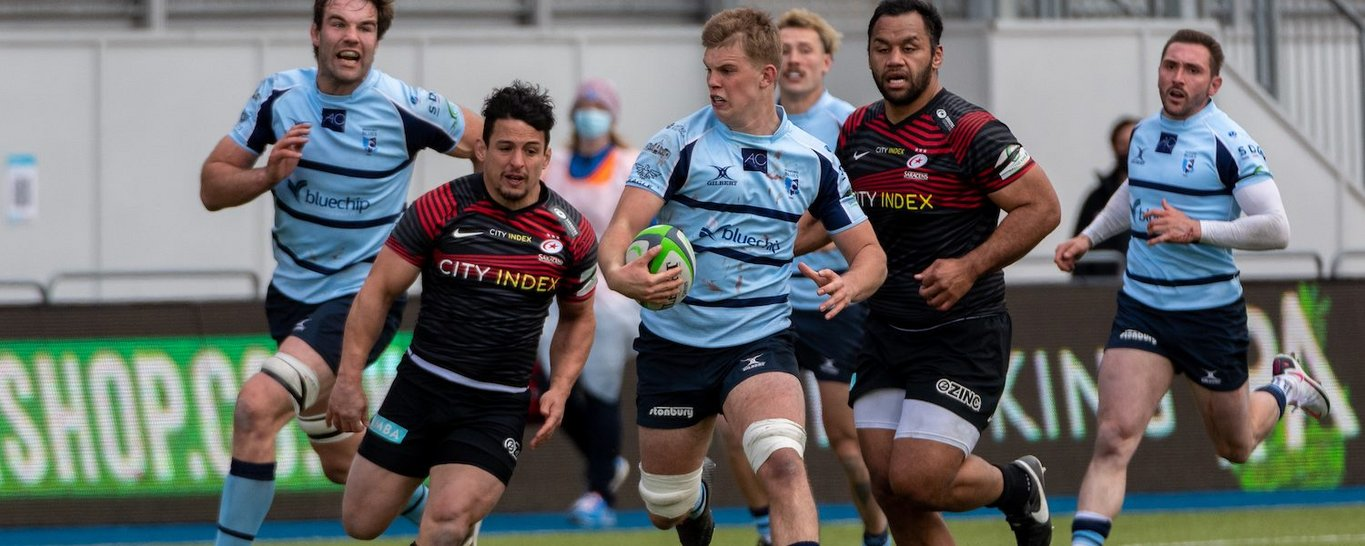 Ollie Newman caught the eye for Bedford