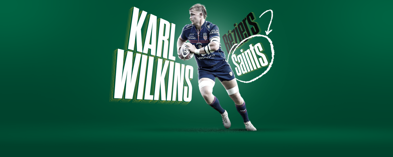Karl Wilkins signs for Saints from Beziers