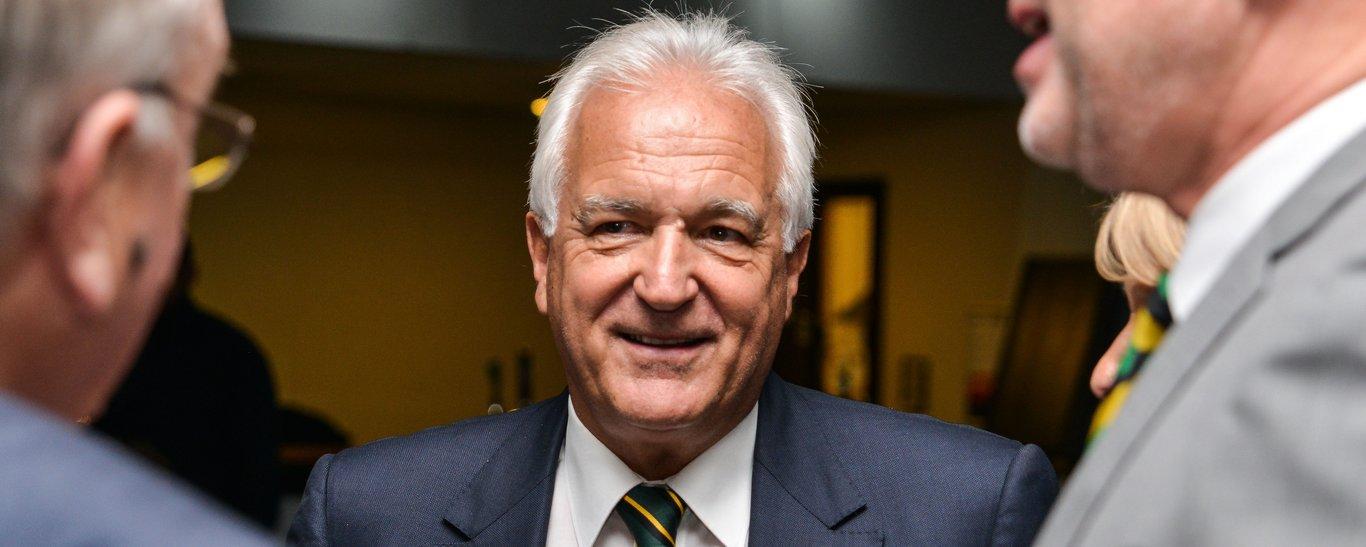 John White is Northampton Saints' Club chairman
