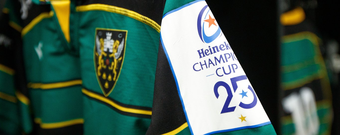 Northampton Saints' Champions Cup draw