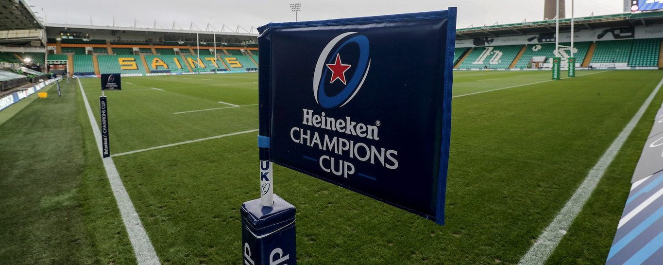 Northampton Saints play in the Champions Cup