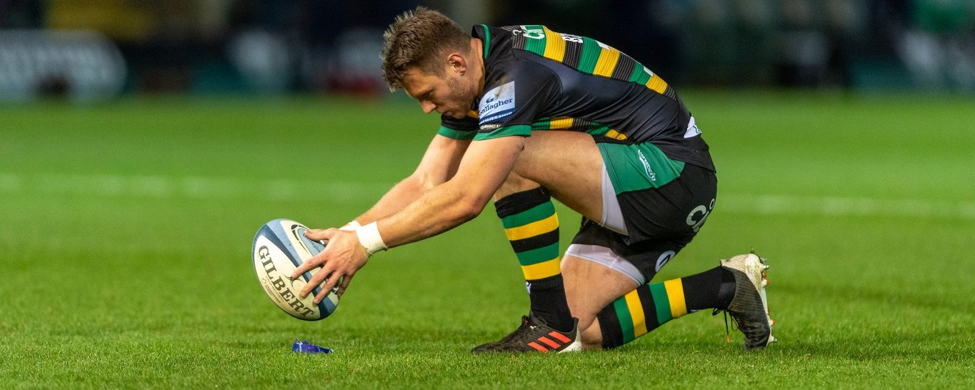 Northampton Saints' Dan Biggar during the 2020/21 season