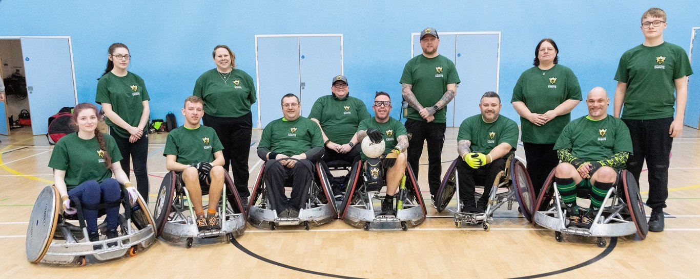 Saints Wheelchair Rugby