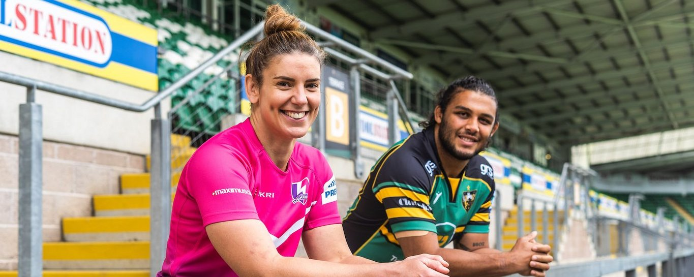 Saints and Loughborough Lightning have agreed an innovative new partnership