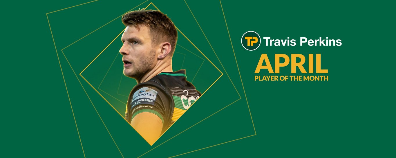 Dan Biggar has been named the Club's Player of the Month for April 2021