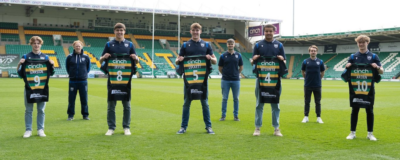 The Club's Senior Academy welcomes five new faces in 2021/22.