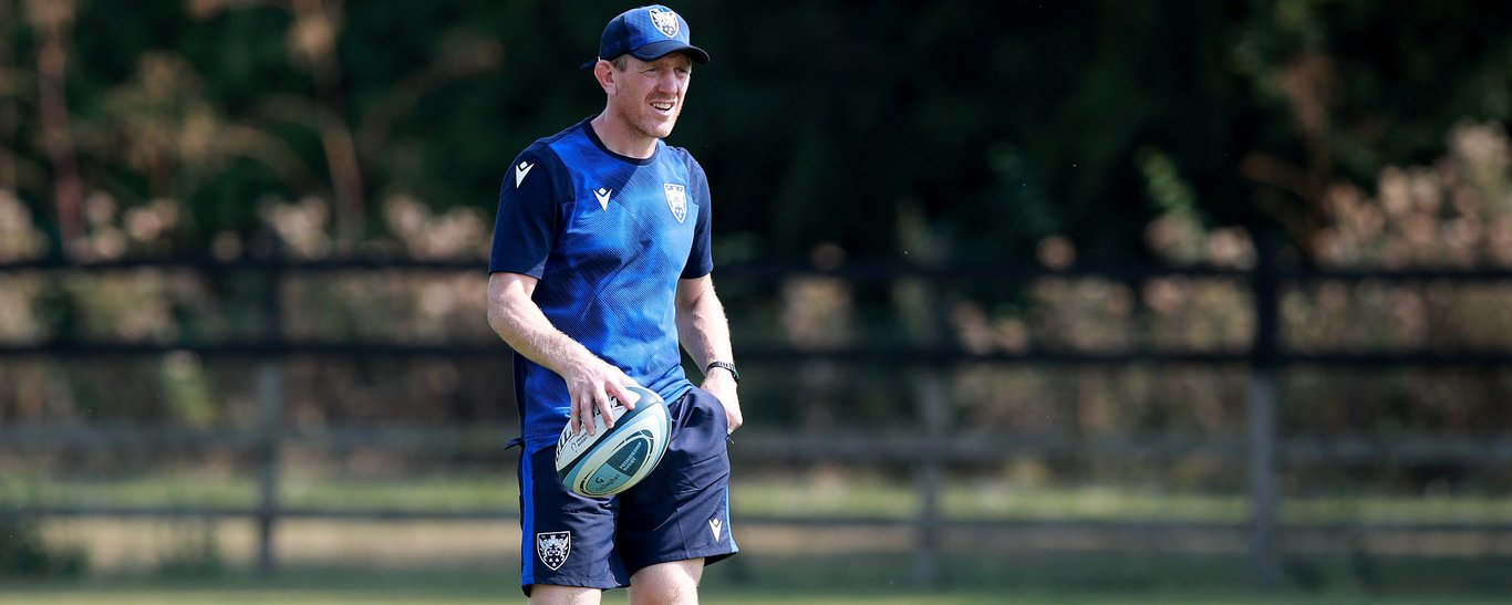 Saints' Attack Coach Sam Vesty