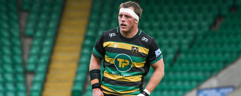 Alex Waller of Northampton Saints