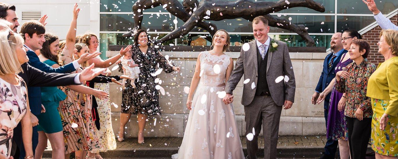 Franklin's Gardens is a leading Northampton Wedding Venue