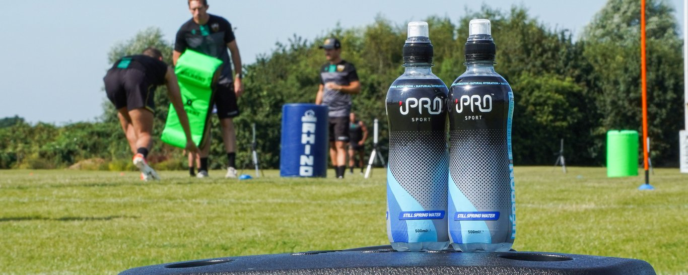 iPro Sport have donated 1200 bottles of water