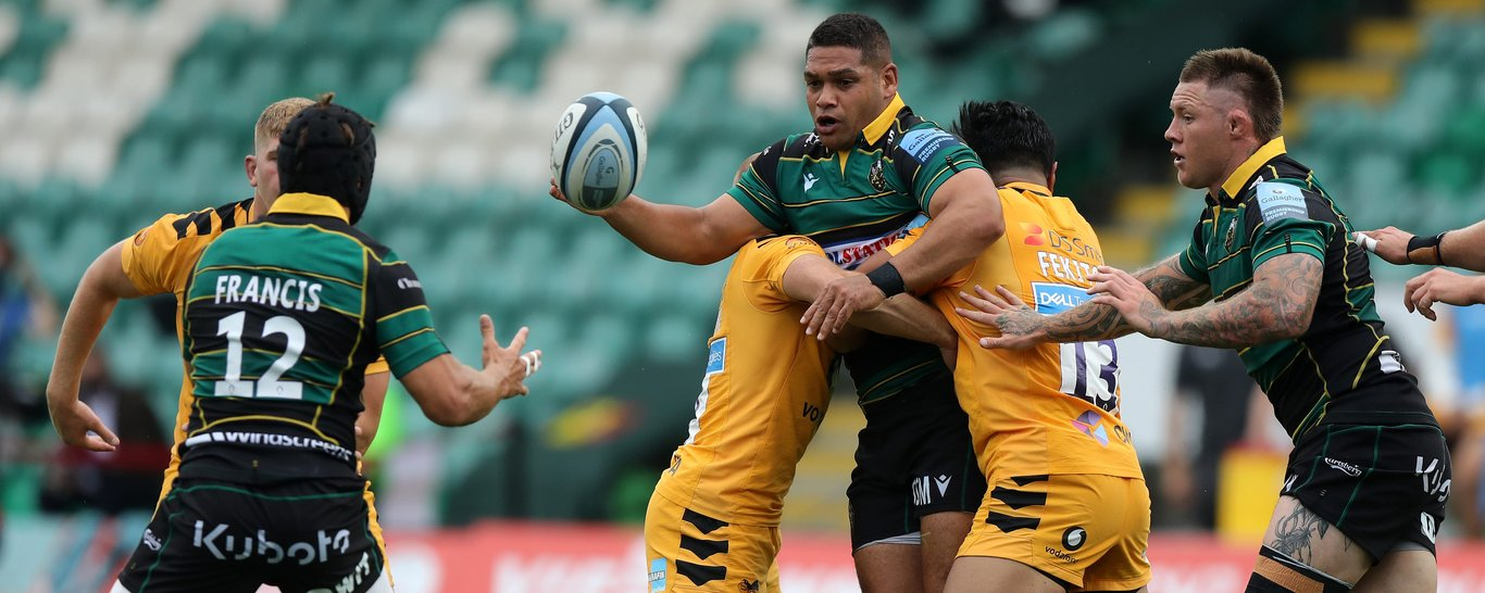 Sam Matavesi made his first Premiership start for Saints