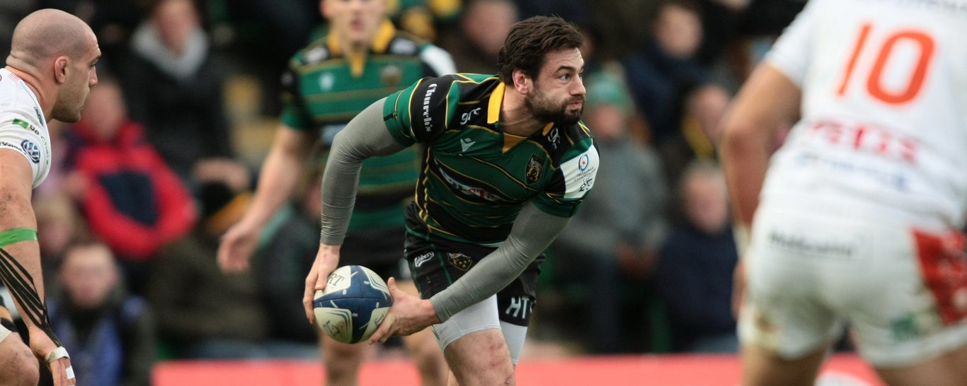 Northampton Saints scrum-half Henry Taylor