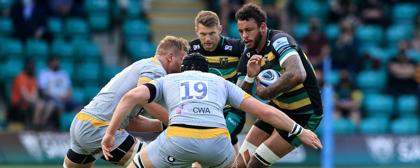 Northampton Saints' Courtney Lawes returns to feature against Wasps